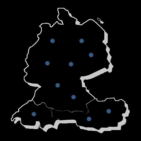 D-A-CH_map